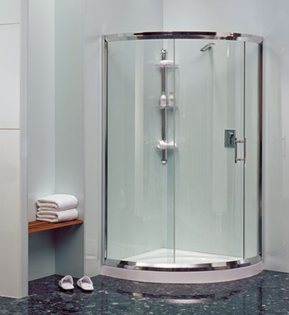 HomePlus   Curved Shower Screens