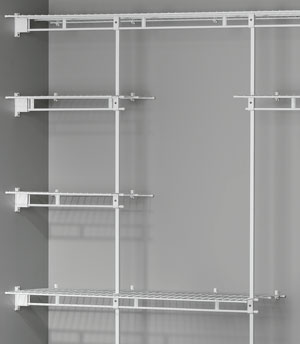 Homeplus Wire Wardrobe Organiser